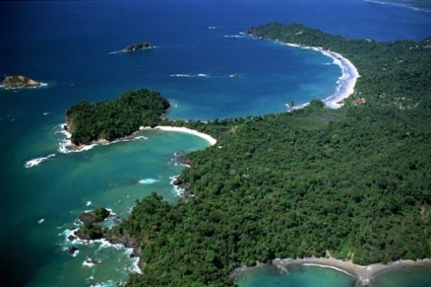Manuel Antonio National Park - Aerial View