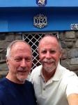 Brian & Frank at La Chascana