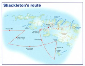 Shackleton's Route