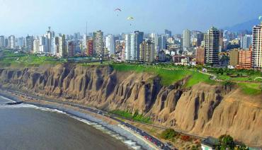 Lima Cliffs and Beach