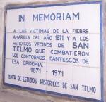 Memorial Plaque - San Telmo Church