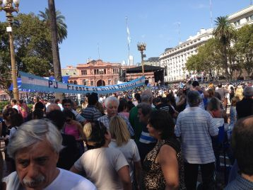 BA - Plaza de Mayo Demonstration