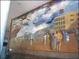 Rio Airport Mural