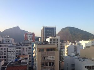 View from our Apartment - Corcovado & Sugar Loaf