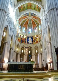Cathedral Madrid Interior