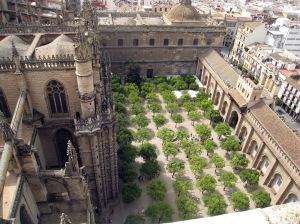 Mosque Courtyard from Giralda Tower