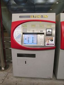 Renfre Ticket Machine