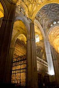Seville Catedral - Interior