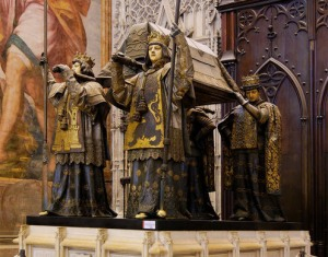 Tomb of Columbus - Seville Cathedral