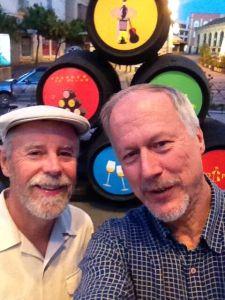 Frank & Brian in Jerez