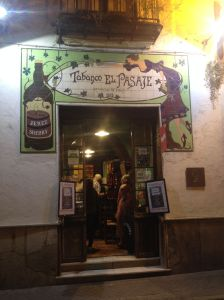 Jerez Sherry Bar Exterior