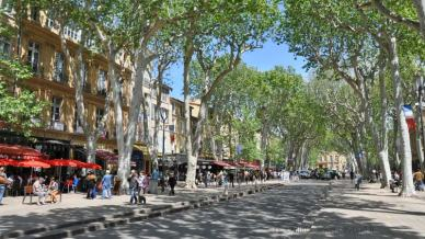 Aix en Provence - Main Street