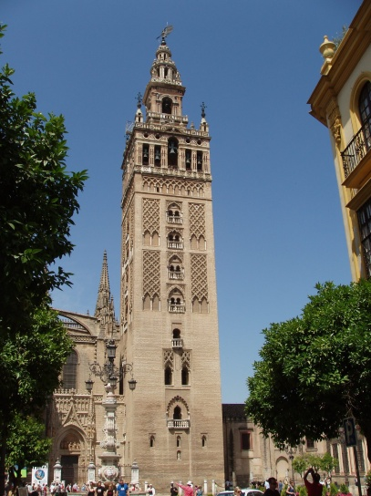 Giralda -Minaret at Seville Cathedral