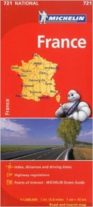 Michelin Road Map - France