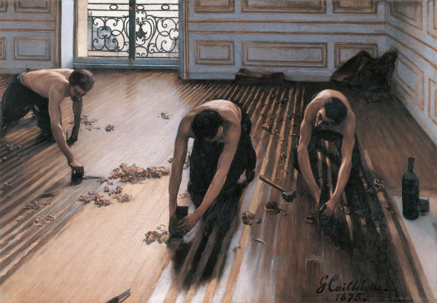 The Floor Scrapers, by Gustave Caillebotte
