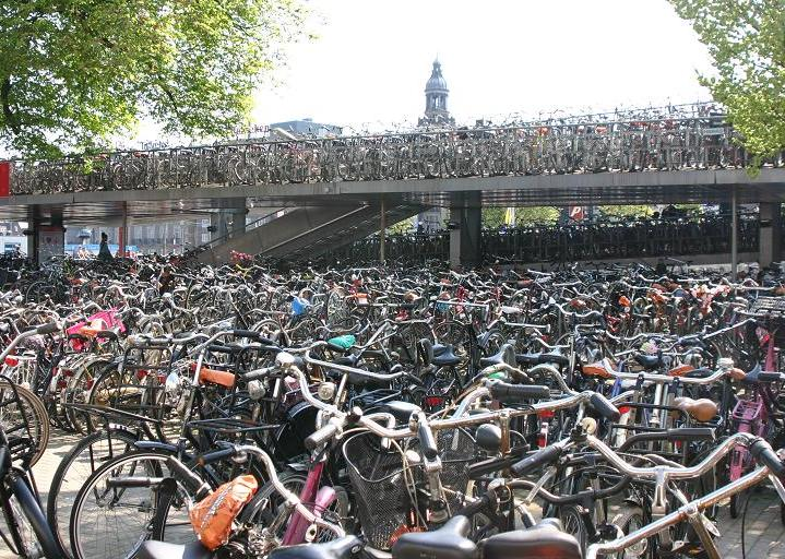 bikes-at-the-train-station