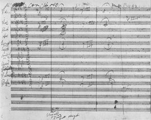 beethoven-5th-symphony-manuscript-page-1