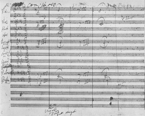beethoven-5th-symphony-manuscript-page-1
