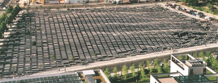 Holocaust Memorial - Aerial View