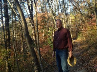 brian-on-hike-cresheim-creek