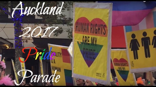 Auckland Gay Pride Banner
