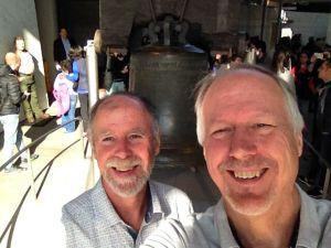 Brian & Frank at Liberty Bell