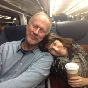 Naomi & Brian - Train Home from NYC
