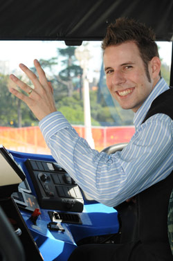 New Zealand Bus Driver
