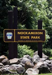 nockamixon-state-park-sign
