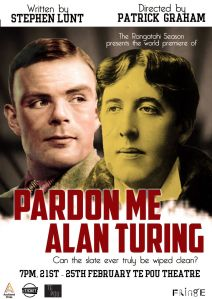 Pardon Me Alan Turing - Play Poster