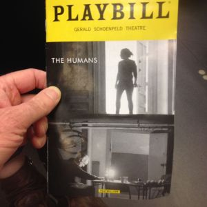 Playbill - The Humans