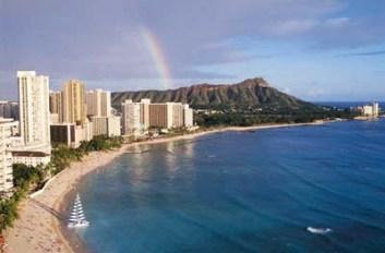Waikiki Beach & Diamond Head - Hawaii