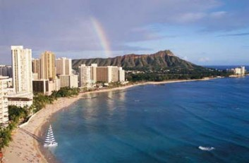 Waikiki Beach & Diamond Head - Hawaii