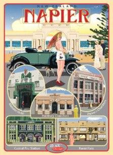 Napier - Art Deco Festival Poster