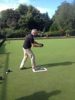 Brian Lawn bowling in Belfast