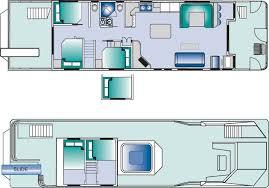 Houseboat floorplan
