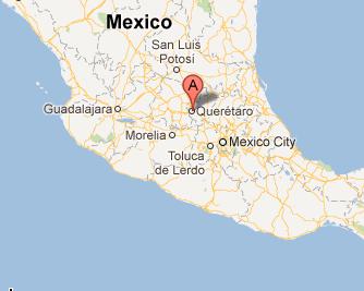 Querétaro Map