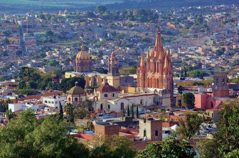 San Miguel de Allende Panoramic