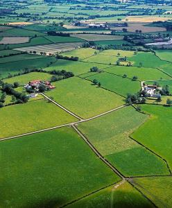 Aerial View of County Fermanagh Ireland