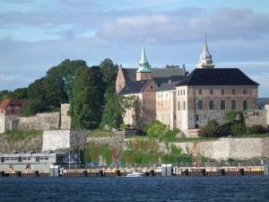 Akershus Fortress - Oslo Harbor