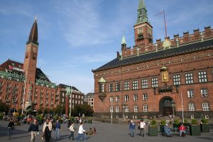 City Hall Square - Copenhagen