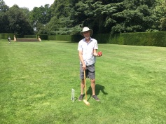 Croquet in the Gardens