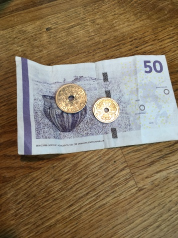 Danish Funny Money - Coins with Holes!