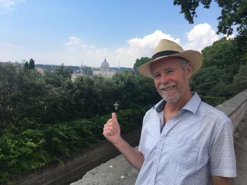 Looking North Toward Vatican City