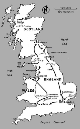 Our UK Route