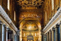 Santa Maria in Trastevere Interior