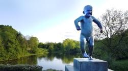 Vigeland Park - Crying Baby