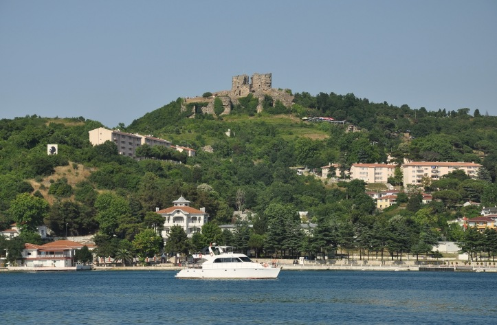 Anadolu Kavağı with Yoros Castle - Bosphorus Strait