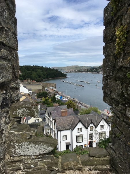 Bay view from Conwy Castle