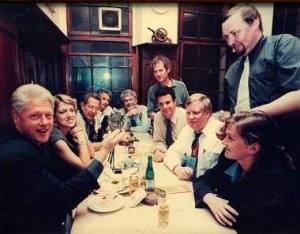 Bill Clinton at Muhlen-Kolsch